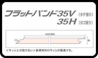 フラットバンド35V、35H