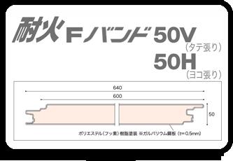 耐火Fバンド50V50H